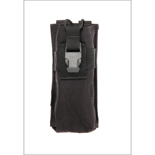 Black Tactical Radio Pouch