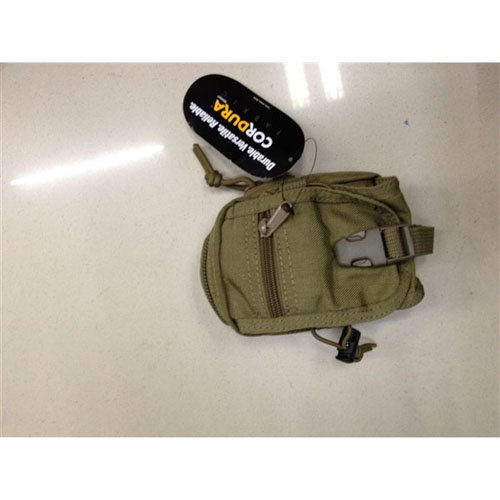 Black Small Cordura Tactical Pouch