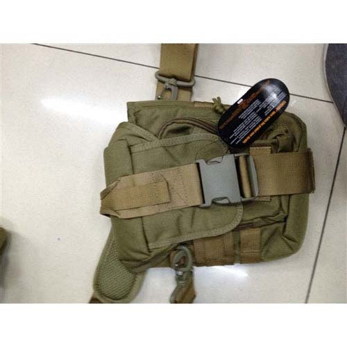 Tan Cordura Large Pouch Bag