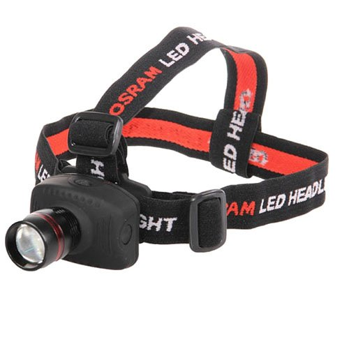 Black LED Headlamp