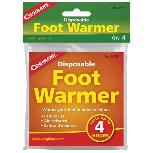 Coghlans 0047 Disposable Foot Warmers