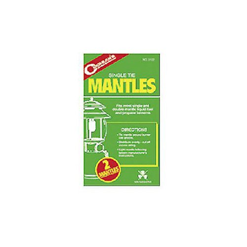 Coghlans 0122 Single Tie Mantles
