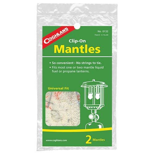 Coghlans 0132 2 Pack Clip-On Mantles