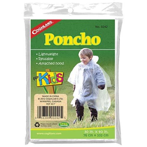 Coghlans 0242 Kids Poncho