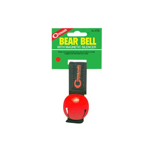 Coghlans 0756 Red Magnetic Bear Bell