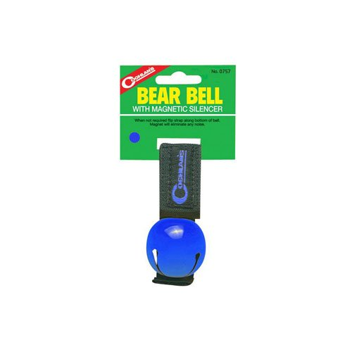 Coghlans 0757 Blue Magnetic Bear Bell