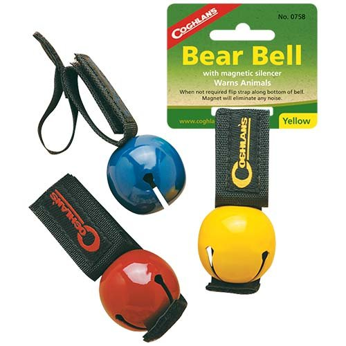 Coghlans 0758 Yellow Magnetic Bear Bell