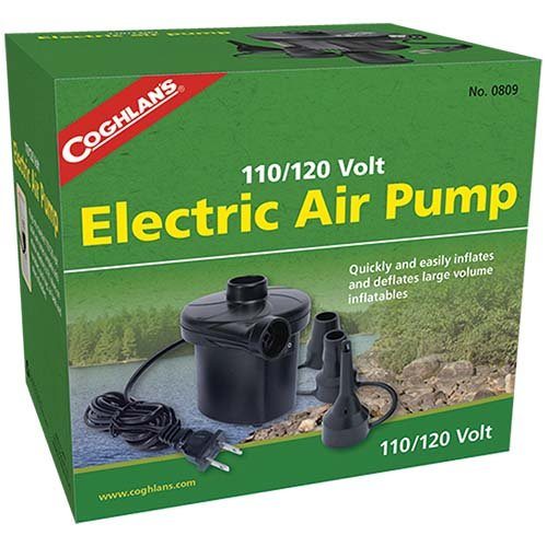 Coghlans 0809 110120V Electric Air Pump