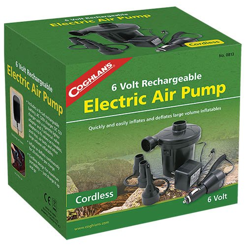 Coghlans 0813 4.8V Rechargeable Air Pump