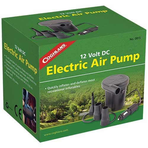 Coghlans 0815 12V DC Electric Air Pump