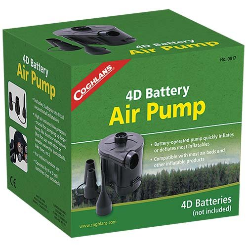 Coghlans 0817 4D Battery Air Pump
