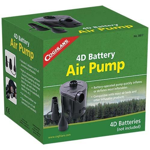 Coghlans 0817 4D Battery Air Pump
