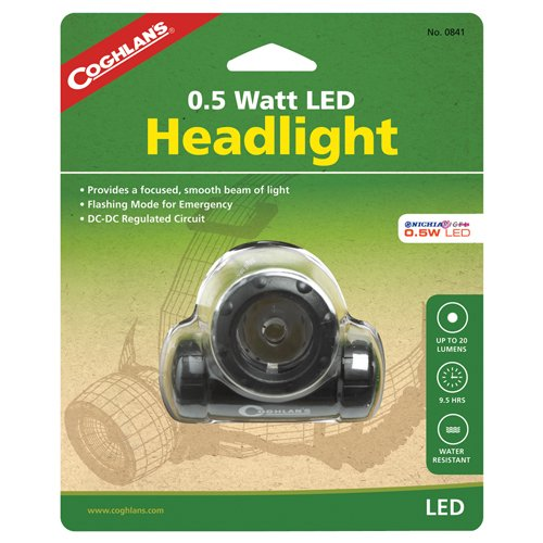 Coghlans 0841 0.5 Watt LED Headlight
