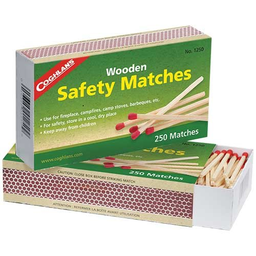 Coghlans 1250 Wooden Safety Matches