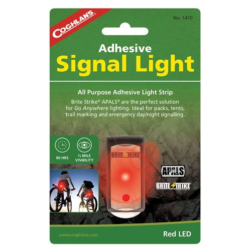 Coghlans Red Adhesive Signal Light