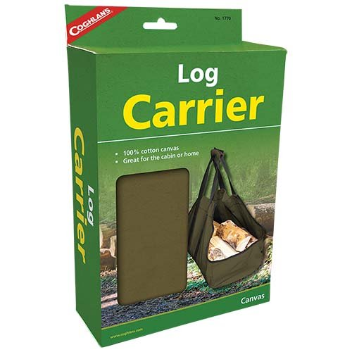 Coghlan's Log Carrier with Polyester Webbing Strap