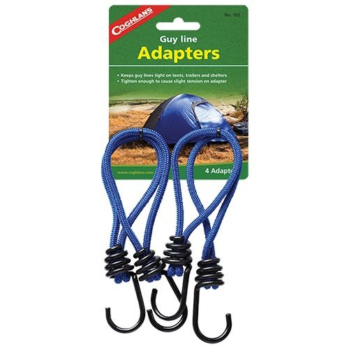 Coghlans 705 Guy Line 4 Pack Adapters