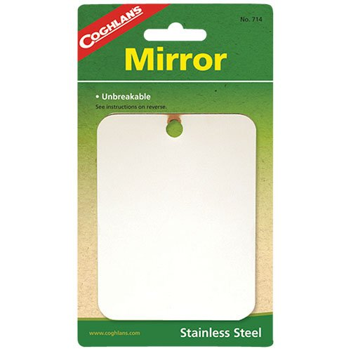 Coghlans 714 Stainless Steel Mirror