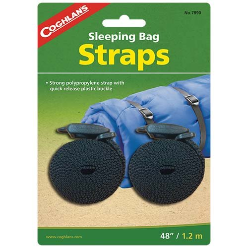 Coghlans 7890 2 Pack Sleeping Bag Straps