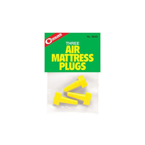 Coghlans 8049 3 Pack Air Mattress Plugs
