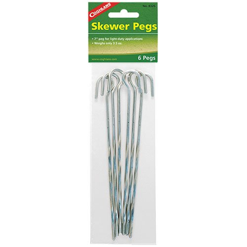 Coghlans 8326 Skewer 6 Pack Peg