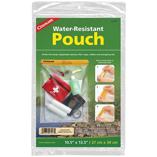 Coghlans 8417 10 12 Inches X 13 12 Inches Waterproof Pouch