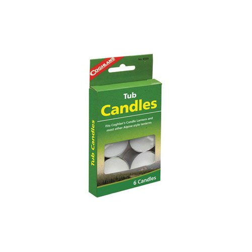 Coghlans 8509 6 Pack Tub Candles