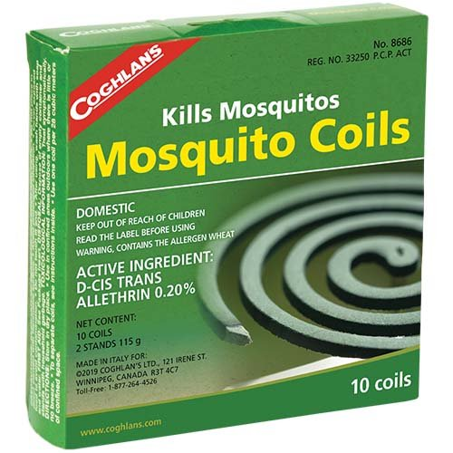 Coghlans 8686 Mosquito 10 Pack Coils