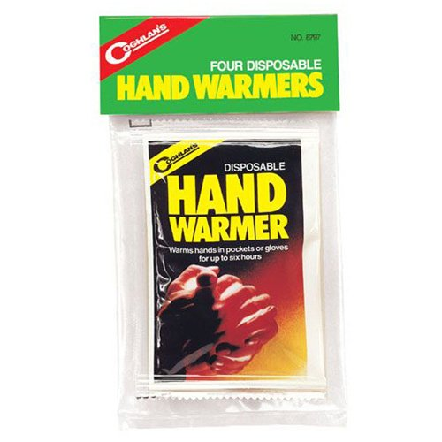Coghlans 8797 Disposable 4 Pack Hand Warmers