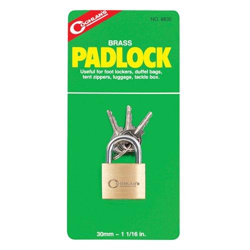 Coghlans 8830 Brass 30Mm Padlock