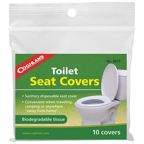 Coghlans 8915 Toilet Seat 10 Pack Covers