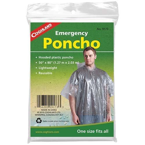 Coghlans 9173 Emergency Poncho
