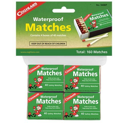 Coghlans 940BP Waterproof Matches