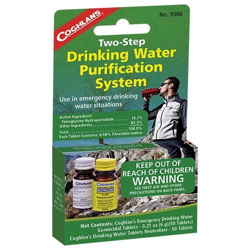 Coghlans 9586 Drinking Water Treatment