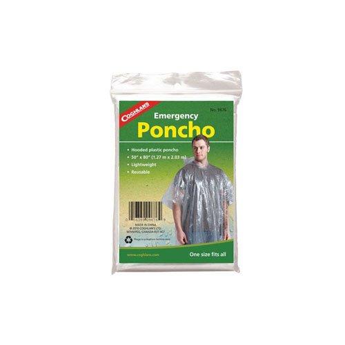 Coghlans 9676 Emergency Clear Poncho