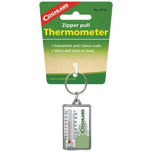 Coghlans 9712 Zipper Pull Thermometer