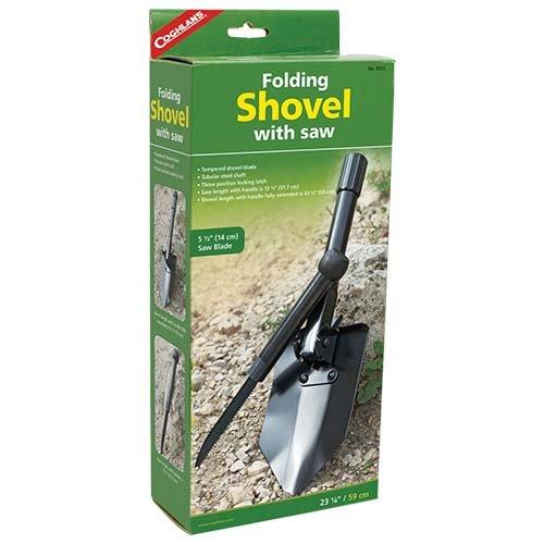 Coghlans 9725 Folding Shovel with Saw