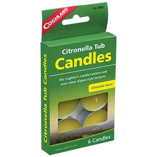 Coghlans 9806 Citronella Tub Candles
