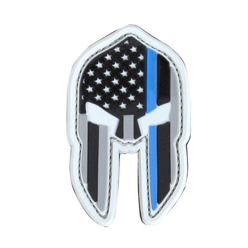 Condor Spartan Helmet Patches - Thin Blue Line