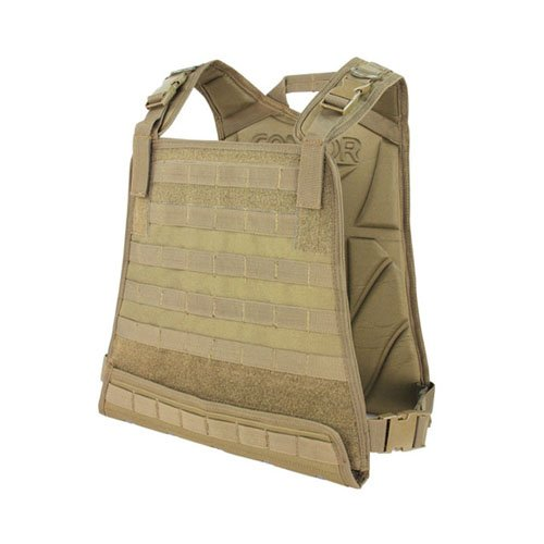Condor Tan Compact Plate Carrier
