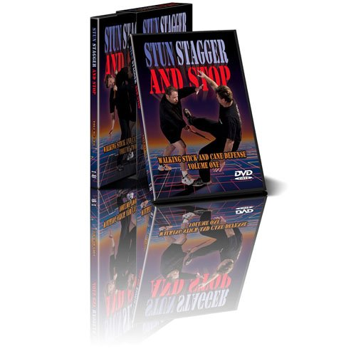 Cold Steel Stun Stagger and Stop Two DVD Set