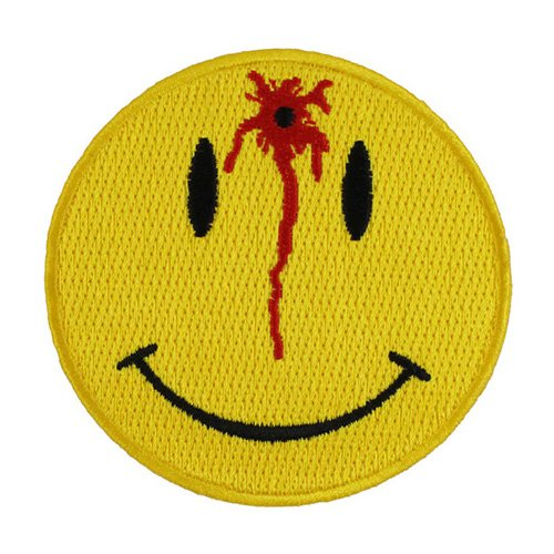 Shot Smiley Patch - 3x3 Inch