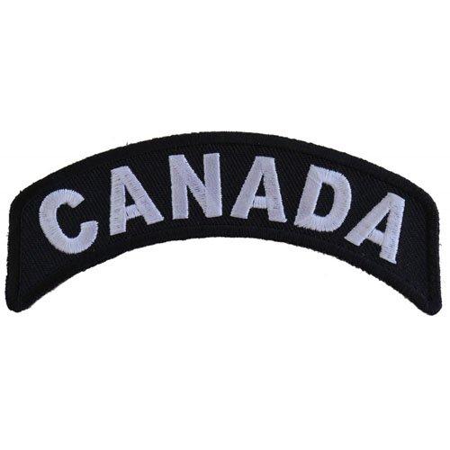 4x1.5 Inch Canada Rocker Patch