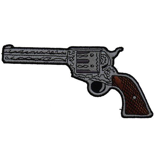 CP 5x2.5 Inch 6 Shooter Pistol Left Patch