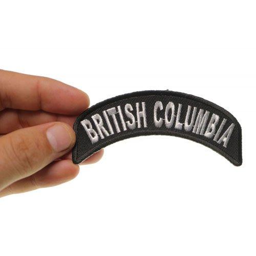British Columbia State Patch 4x1.75 Inch