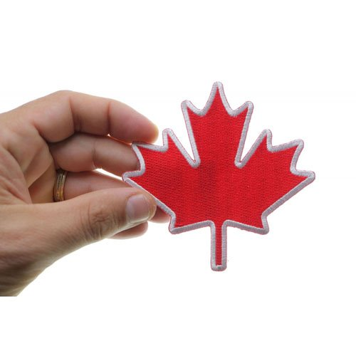 4x4 Inch Canada Maple Leaf Patch