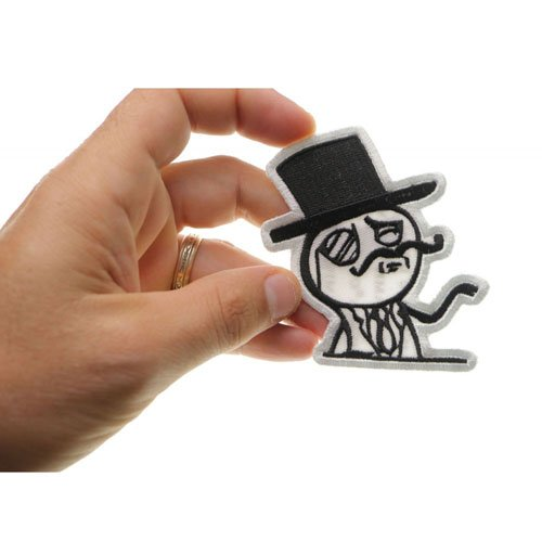 Like A Sir Embroidered Patch 3x3.25 Inch