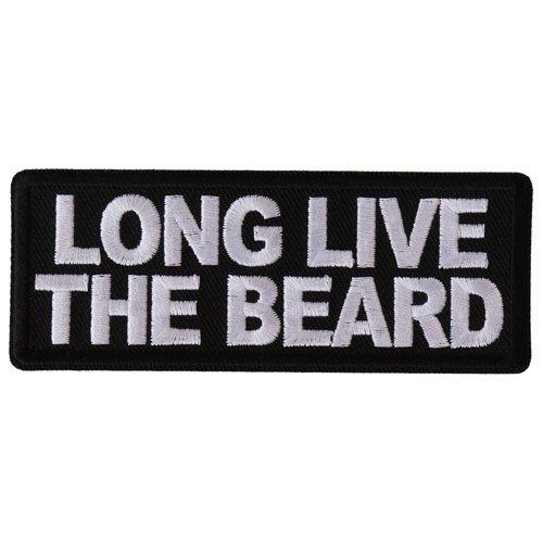 Long Live The Beard Patch