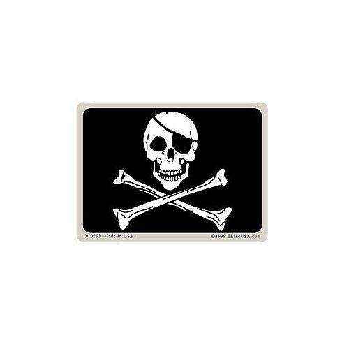 Flag Dec-Pirate 2-34 Inch X 3-34 Inch