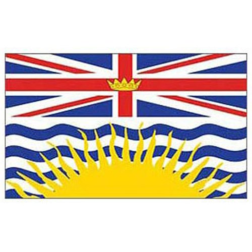 Flag Canada British Col 3Ftx5ft